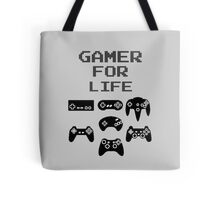 Gamer For Life ( Pillows & Totes ) Tote Bag