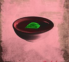 tomato soup in a bowl / No Logo pop art by filippobassano