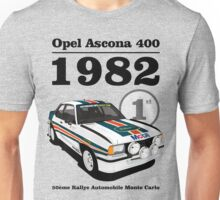 Ascona 400 : Number 1 Since 82 Unisex T-Shirt