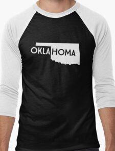 Oklahoma Men's Baseball ¾ T-Shirt