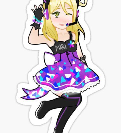 Love Live! Sunshine!! Mari Ohara Cyber Version Sticker