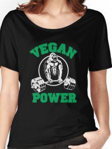 Vegan Power  Women's Relaxed Fit T-Shirt