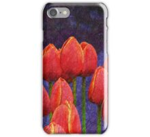janes tulips iPhone Case/Skin