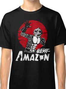 Japan Monster Tokusatsu Retro Masked Kamen Rider Amazon  Classic T-Shirt