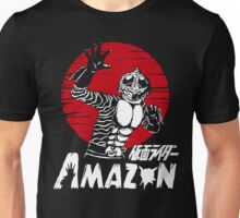 Japan Monster Tokusatsu Retro Masked Kamen Rider Amazon  Unisex T-Shirt