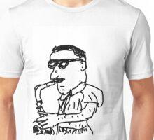 West Coast Bop Jazz Sax Man  Unisex T-Shirt