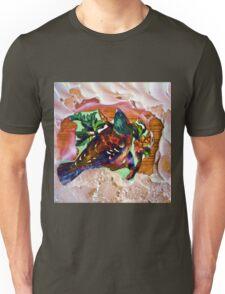 Beautiful bird on a branch Unisex T-Shirt