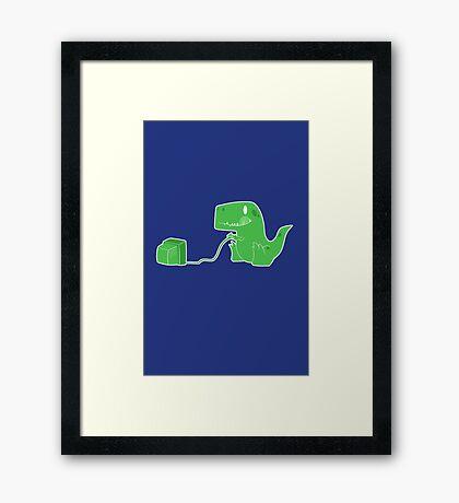 Gameasaurus Rex Framed Print