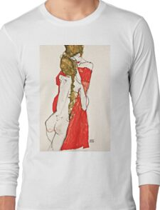 Egon Schiele - Mother and Daughter (1913)  Long Sleeve T-Shirt