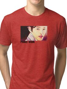 """Moon Lovers: Scarlet Heart Ryeo """"Prince Wook"""" Graphic Design Tri-blend T-Shirt"""