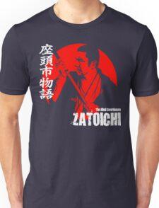 Shintaro Katsu Japan Retro Classic Samurai Movie Zatoichi The Blind Swordsman  Unisex T-Shirt