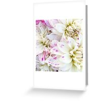 Dotted Dahlia Greeting Card