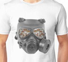 fungi gas mask magic shroom view Unisex T-Shirt