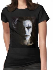 The Crow- Eric Draven Womens Fitted T-Shirt