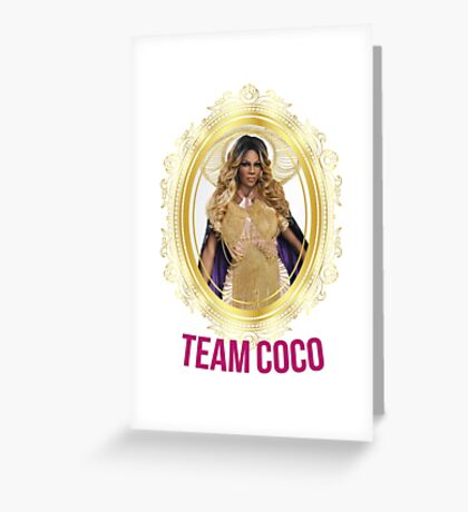Rupaul's Drag Race All Stars 2 Team Coco Montrese Greeting Card