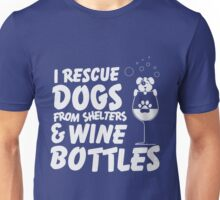 Dogs & Wine Unisex T-Shirt
