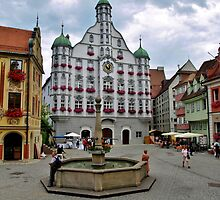 Memmingen Townhall by Janone