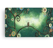 Solomn Bird Canvas Print