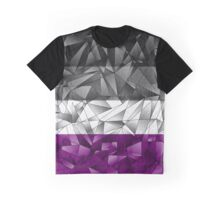 Abstract Asexual Flag Graphic T-Shirt