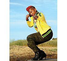 Hip Hop rules Photographic Print