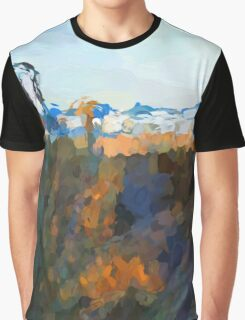 Glimpse of the Beach 1 Graphic T-Shirt