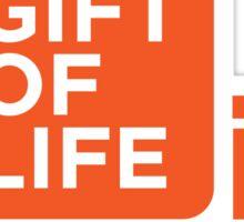 Gift of Life Logo Sticker