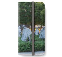 Korean War Veterans Memorial iPhone Wallet/Case/Skin