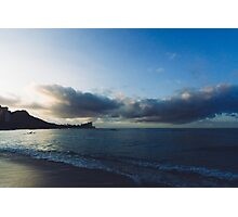 beach-morning 01 Photographic Print