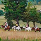 Horseback Tour of the Gettysburg Battlefield by Charlotte Yealey