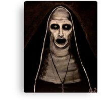Demonic Sister Valak Canvas Print