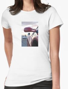 Ferrari Testarossa Super Car Womens Fitted T-Shirt