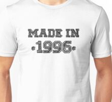 Made in 1996 Unisex T-Shirt