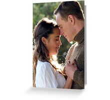 THE LIGHT BETWEEN OCEANS Greeting Card