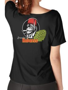 FOH Chimp Dark Colours Women's Relaxed Fit T-Shirt