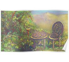 Afternoon Light (pastel) Poster