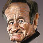 Robin Williams by arievanderwyst