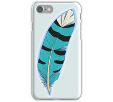 Jay's Wing feather iPhone Case/Skin