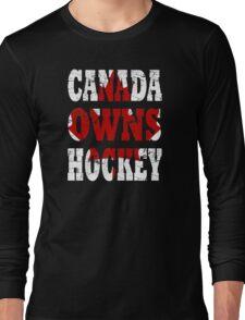 canada hockey Long Sleeve T-Shirt