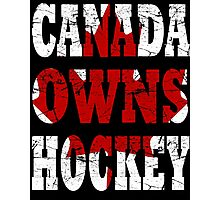canada hockey Photographic Print
