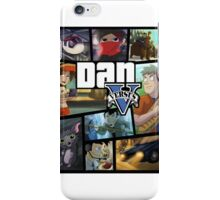 Dan Vs GTA V iPhone Case/Skin