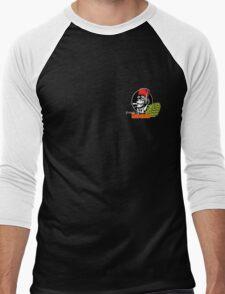 FOH Chimp Dark Colours (Small) Men's Baseball ¾ T-Shirt