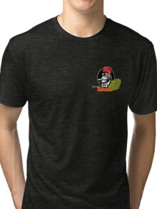 FOH Chimp Dark Colours (Small) Tri-blend T-Shirt