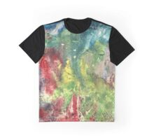 Watercolor texture Graphic T-Shirt
