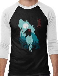 Princess Mononoke Men's Baseball ¾ T-Shirt