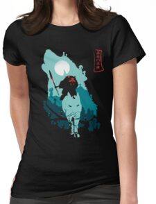 Princess Mononoke Womens Fitted T-Shirt