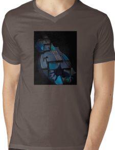 Ghost Guitar Mens V-Neck T-Shirt