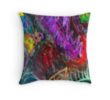 Chaos Colorized Throw Pillow