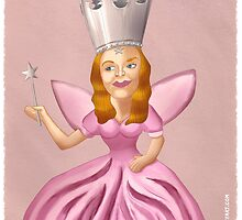 Glinda the Good Witch by iansmileyart