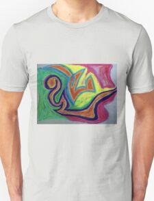 Oiled Yin and Yang T-Shirt
