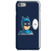 One Punch Vigilante iPhone Case/Skin